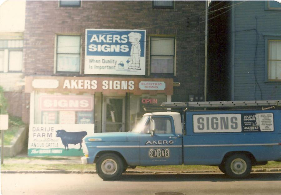By Akers Signs