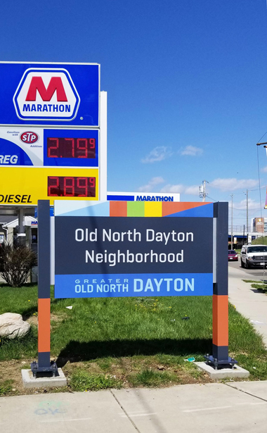 Citywide Dayton Sign