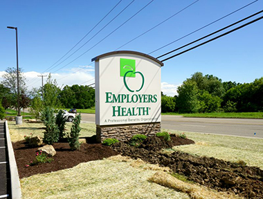 Employers Health Monument