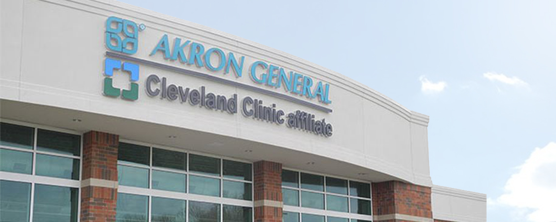 Akron General Green - By Akers Signs