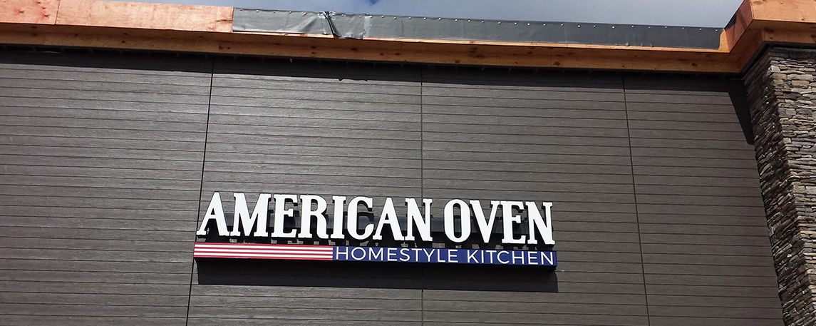 American Oven- By Akers Signs