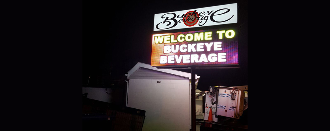 Buckeye Beverage - By Akers Signs