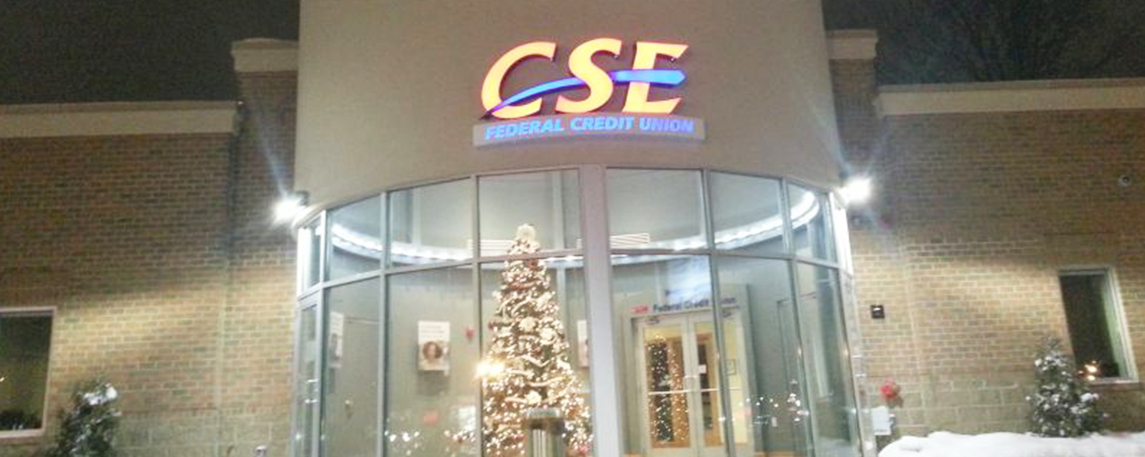 CSE Federal Credit Union- By Akers Signs