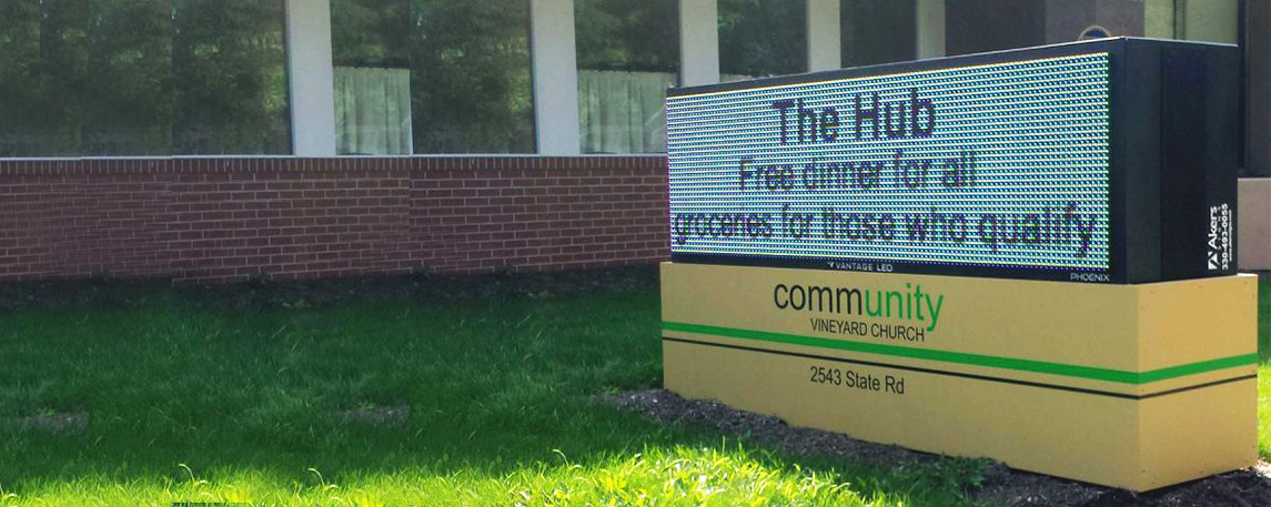 Community Christian Church - By Akers Signs