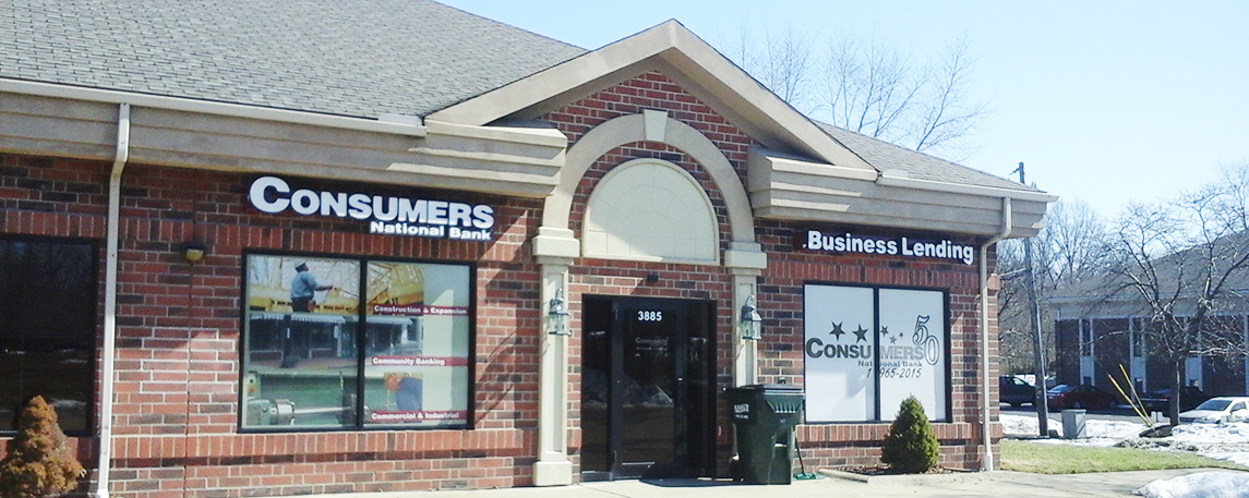 Consumers National Bank - By Akers Signs