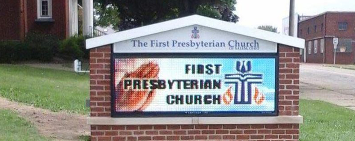 First Presbyterian of Salem - By Akers Signs