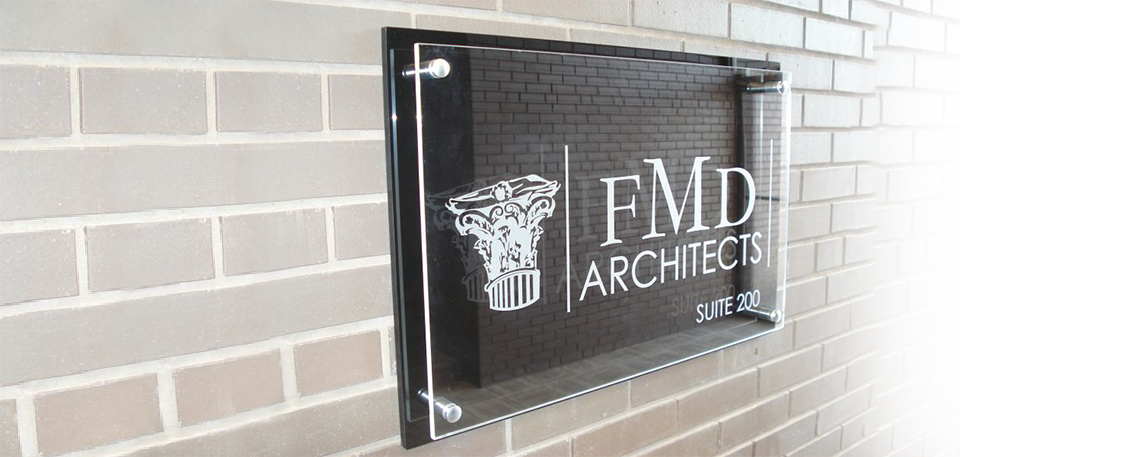 FMD Architects- By Akers Signs