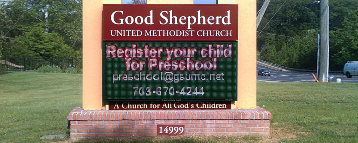Good Shepherd United Methodist - By Akers Signs