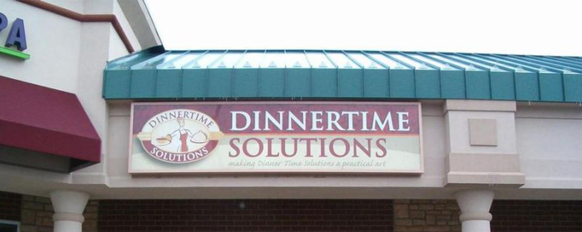 Dinnertime Solutions - By Akers Signs