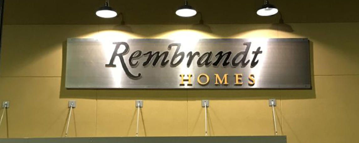 Rembrandt Homes- By Akers Signs