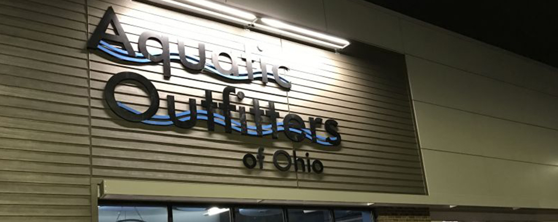 Aquatic Outfitters of Ohio - By Akers Signs