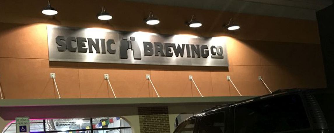 Scenic Brewing Co- By Akers Signs