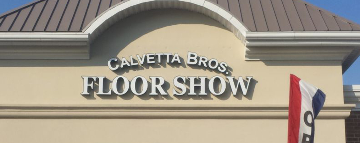 Calvetta Brothers Floor Show - By Akers Signs