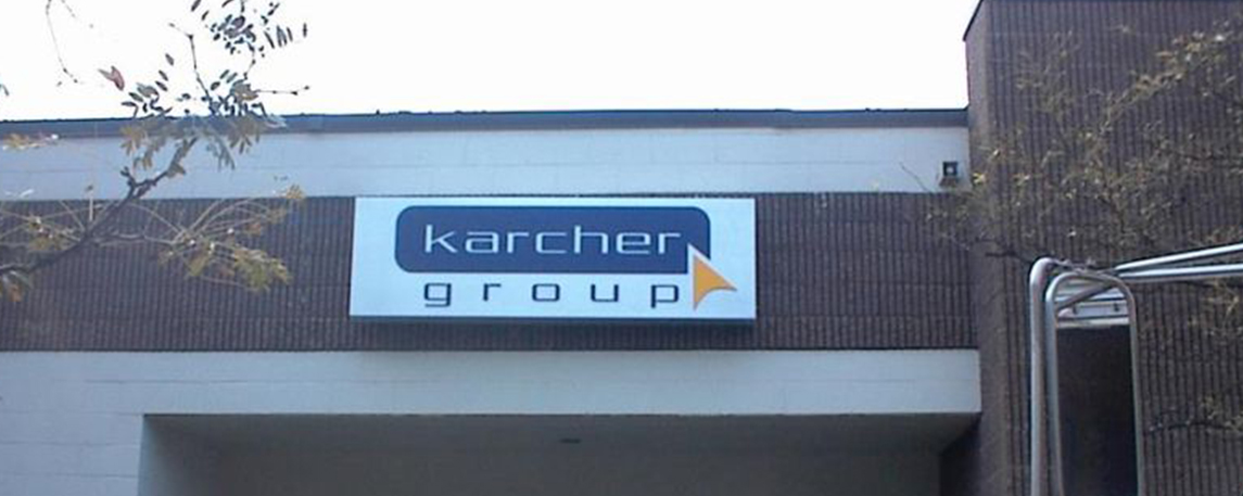 Karcher Group - By Akers Signs