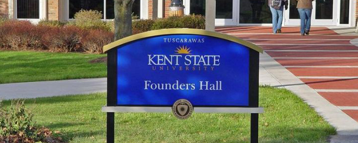 Kent State University - By Akers Signs