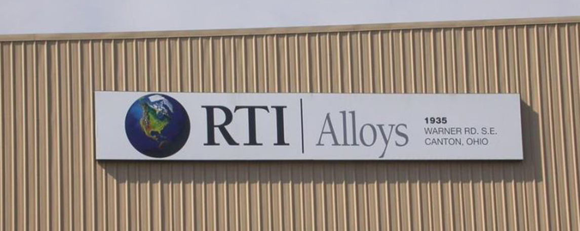 RTI Alloys - By Akers Signs