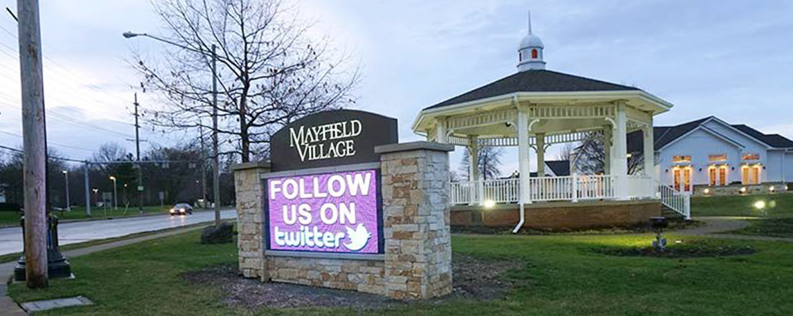 Mayfield Village - By Akers Signs