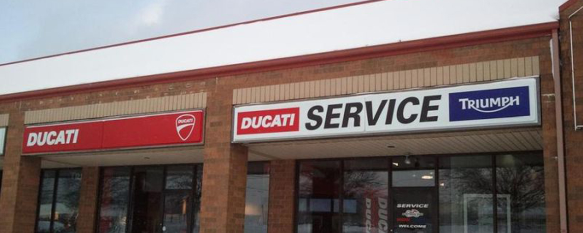 Ducati - By Akers Signs