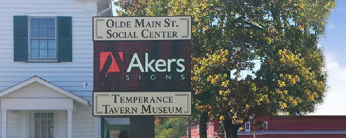 Newcomerstown - By Akers Signs