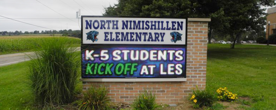 North Nimishillen Elementary - By Akers Signs
