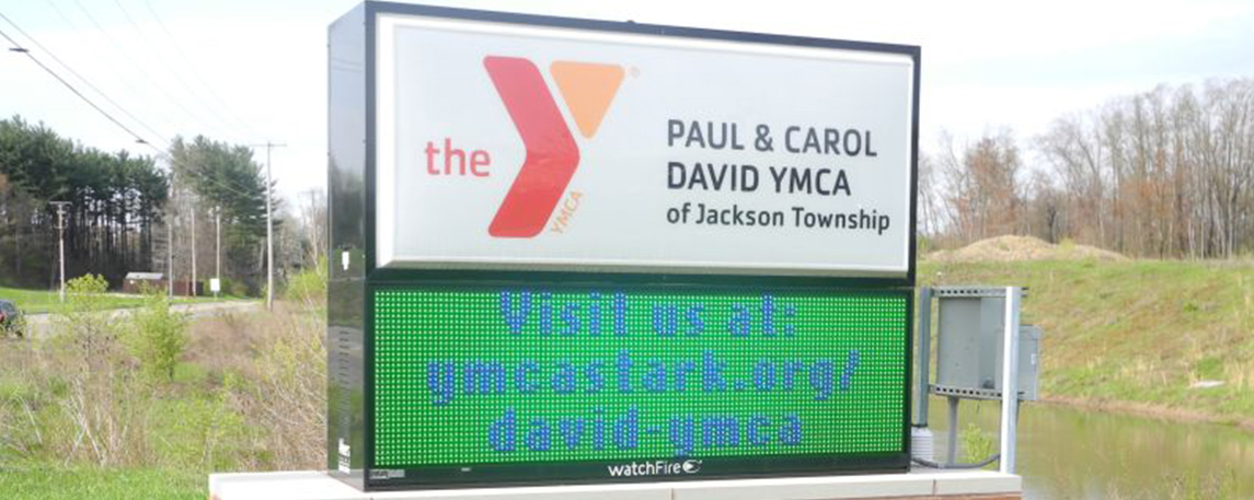 The YMCA - By Akers Signs