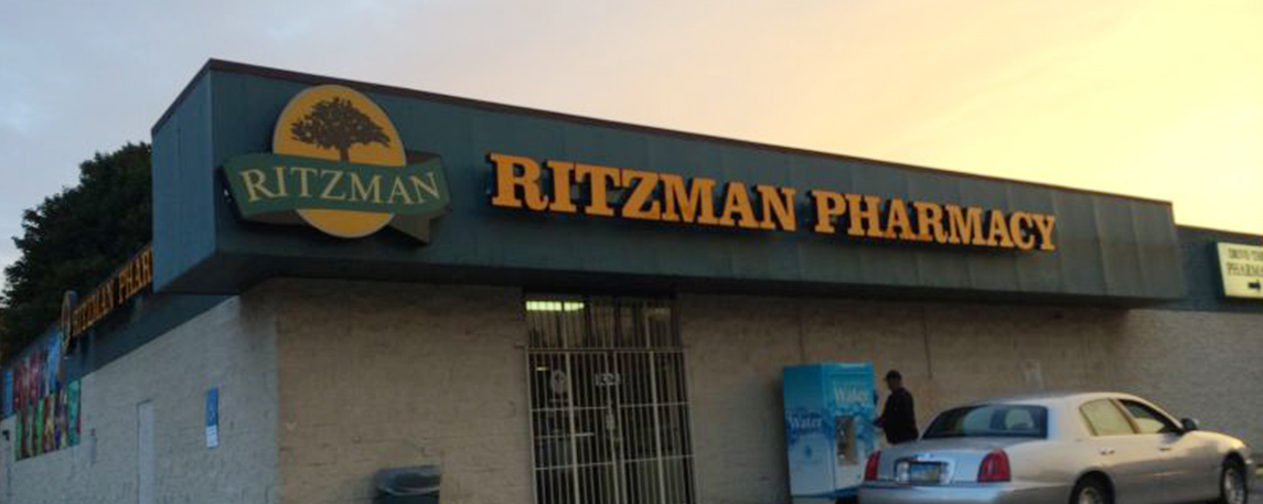 Ritzman Pharmacy- By Akers Signs