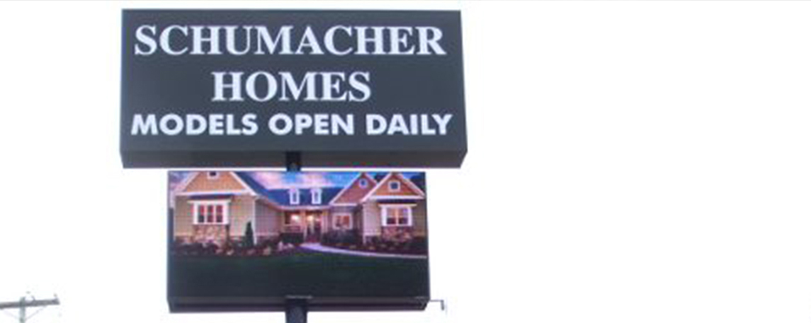 Schumacher Homes - By Akers Signs