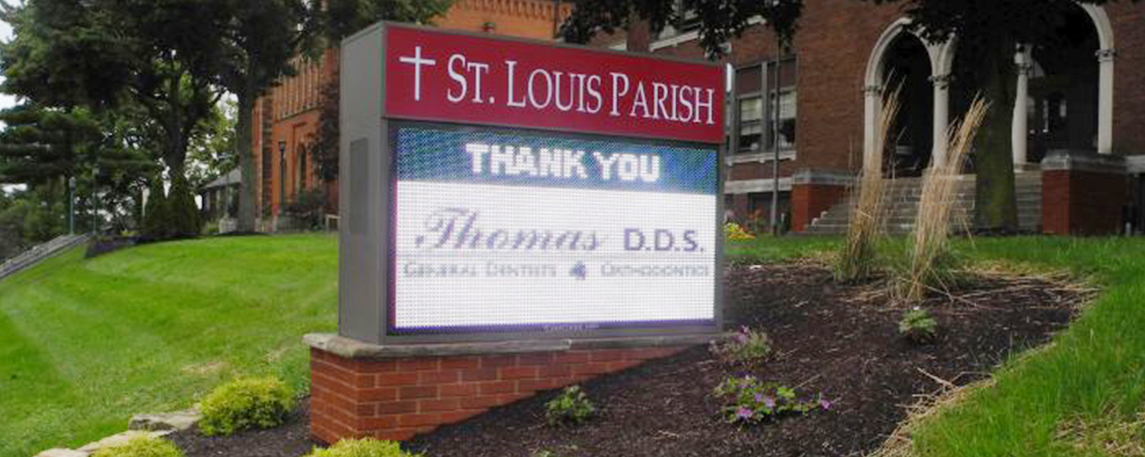 St. Louis Parish - By Akers Signs