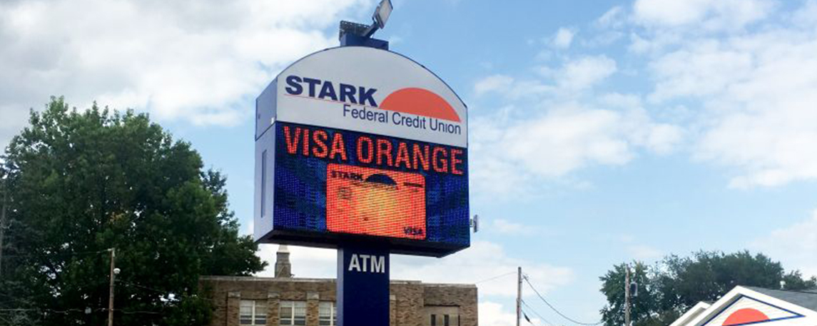 Stark Federal Credit - By Akers Signs
