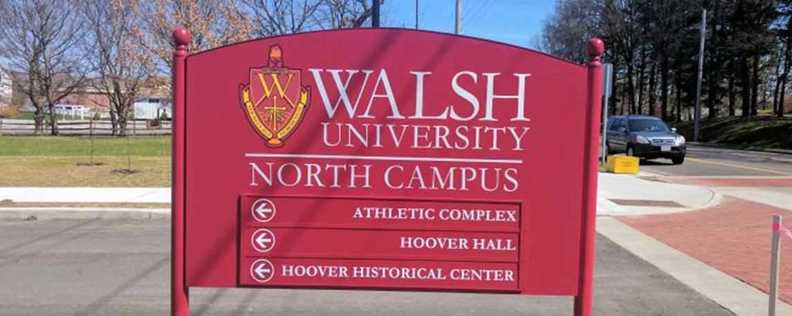 Walsh University - By Akers Signs