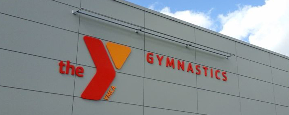YMCA Gymnastics- By Akers Signs