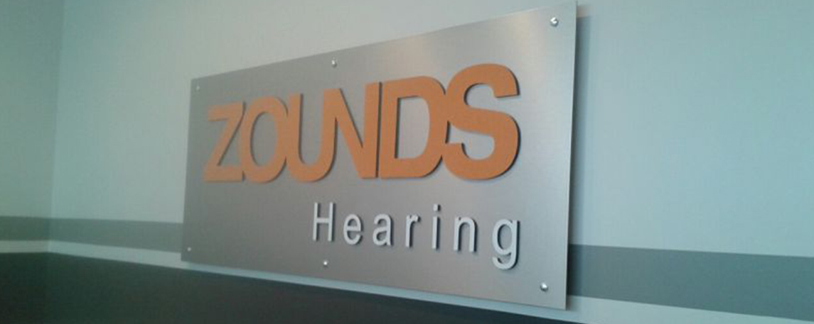 Zounds Hearing-Interior- By Akers Signs
