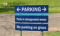 Parking Sign - By Akers Signs
